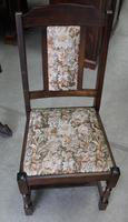 1940's Oak Dining Suite with Set 6 Oak Dining Chairs (2 of 5)