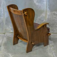 Pair of Elm Lambing Chairs (5 of 8)
