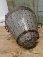 19th Century Brutalist North African Water Bucket (2 of 6)
