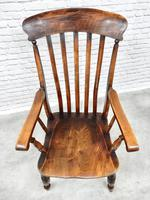 Large Grandfather Windsor Slatback Armchair (2 of 7)