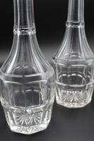 Attractive Pair of Early 19th Century Mallet Shaped Carafes (3 of 3)