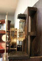 Small Oak Westminster Chime Longcase Clock (10 of 10)