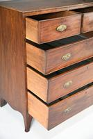 19th Century Antique Mahogany Chest of Drawers (9 of 11)