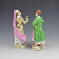 Pair of Samson Porcelain Figures of Ottomans / Turks after Meissen (4 of 13)