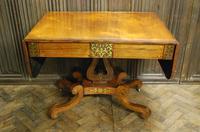 Regency Rosewood Sofa Table (4 of 9)