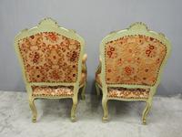 Pair of Italian Carved and Painted Armchairs (7 of 16)