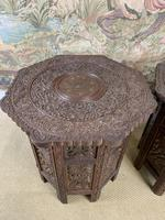 Pair of Anglo Indian Occasional Tables (4 of 6)