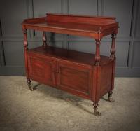 Victorian Mahogany Buffet Cabinet (8 of 15)