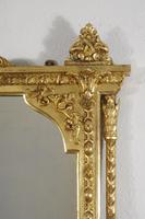 Victorian Gilt Overmantle Mirror (6 of 12)