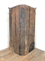 Antique Corner Cupboard with Drawer (10 of 10)