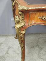 Large French Walnut Bureau Plat / Writing Table (5 of 16)