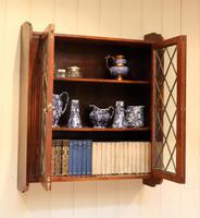 Oak Glazed Wall Cabinet (9 of 9)