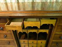 Set of Mahogany Drawers - 10 Large, 6 Small, 6 Small Trays (7 of 10)