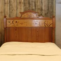 Art Nouveau Matching Pair of Twin Single French Beds (8 of 10)