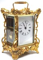 Extremely Rare 8-day Striking Carriage Repeat Feature Waterbury Clock Co c.1880 (2 of 14)