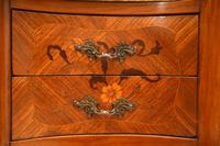 Pair of Antique French Marble Top Kidney Bedside Tables (6 of 12)