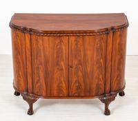 Stunning Mahogany Shaped Cabinet (2 of 8)