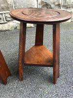 Pair of Arts & Crafts Oak Tables (6 of 9)