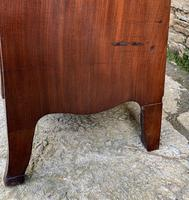 Regency Flame Mahogany Bow Front Chest of Drawers (15 of 17)