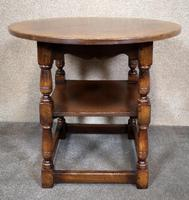 Titchmarsh & Goodwin English Oak Tavern Table / Occasional Table RL87 (2 of 10)