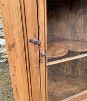 Antique Pine & Elm Hanging Corner Cupboard (7 of 11)