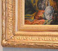 Pair of Still-life Oil Paintings by A Bonnefoy (12 of 13)