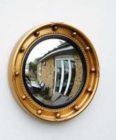 Art Deco Regency Style, Convex, Porthole  Mirror (9 of 13)