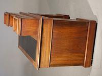 Fine Quality Victorian Walnut Kneehole Desk (5 of 6)