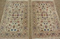 Good Pair of Antique Kashan Carpets (9 of 11)