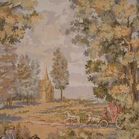 Large Antique Panoramic Tapestry, French, Needlepoint, Decorative Panel c.1910 (8 of 12)
