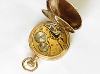 Revue Full Hunter Pocket Watch for J W Benson (4 of 6)