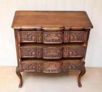 French Oak Chest of Drawers (6 of 10)