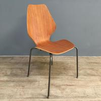 Teak 'City Chairs' by Øyvind Iversen (11 of 13)
