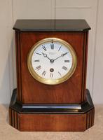 Walnut Timepiece Mantel Clock (11 of 14)