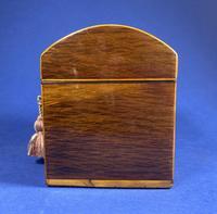 George III Partridge Wood Tea Caddy (5 of 12)