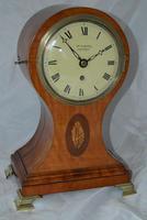 John Harper of London Regency Satinwood Balloon Clock