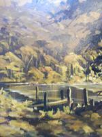 Large oil on canvas The Plantation Brazilian artist Chediac (8 of 10)