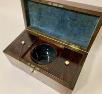 Antique Georgian Mahogany Tea Caddy Box (2 of 12)