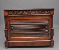 19th Century Carved Oak Partners Desk (10 of 17)