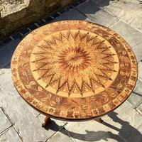 A Fine 19th C Italian Inlaid Parquetry Occasional, Centre Table with Rare Hidden Writing Slope (2 of 12)