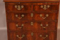 Rare English Walnut Small Chest of Drawers (4 of 9)