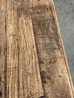 French Rustic Bleached Oak Coffee Table (7 of 17)