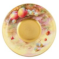Royal Worcester Fruit Cup Saucer & Plate (5 of 9)