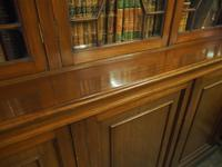 Large George III Style Mahogany 6 Door Cabinet Bookcase (14 of 17)