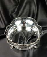 Large Edwardian Silver Centre Piece (12 of 12)