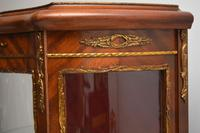 Antique French Style Ormolu Mounted Display Cabinet (4 of 13)