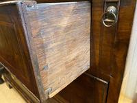 George I Walnut Bureau Bookcase (5 of 9)