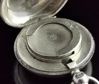 Antique Silver Sovereign Case, Coin Holder, Edwardian (13 of 13)