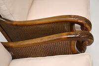 Pair of Antique Swedish Satin  Birch Bergere Armchairs (12 of 12)
