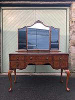 Antique Burr Walnut Dressing Table